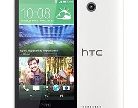 HTC Desire 510 Vanilla White 3D
