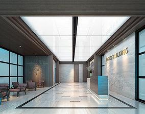 Office Lobby 01 3D model
