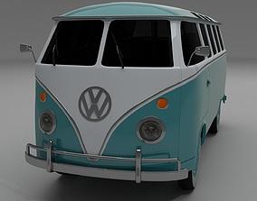 3D model VW Bus Mk 1