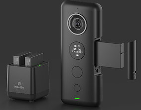 3D Insta360 ONE X webcam