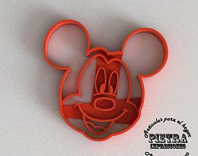MOLDE CORTANTE PARA GALLETAS FONDANT 3D printable model 3
