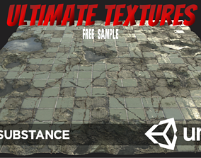 Ultimate Texture Library - FREE PBR SAMPLE 3D asset