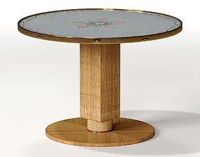 3D Jules Leleu French Art Deco Side Table