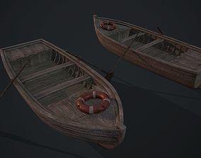 Fishing boat 3D asset realtime PBR