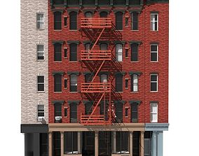 3D New York Building facade 2