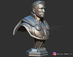 3D printable model Thor Bust Short Hair - Avenger 4 bust 2