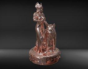 3D printable model Freya statuette