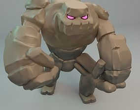 3D model Golem from Clash of Clans