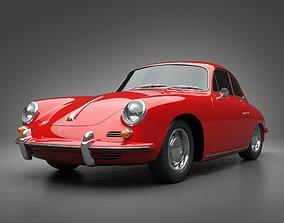 3D model 1965 Porsche 356SC