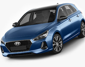 Hyundai i30 2017 3D model