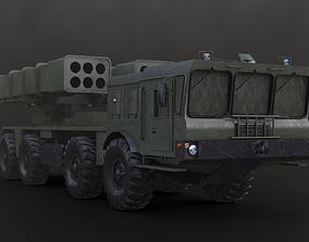 3D model 9K512 Uragan M-1