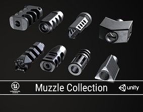 PBR Muzzle Collection 3D model
