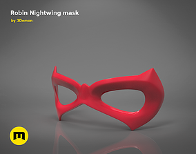 3D printable model Robin Nightwing mask