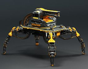 Sci-fi Robot Thing 3D