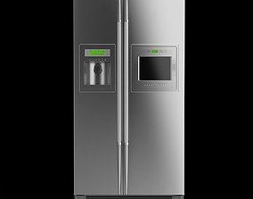 LG Side-by-Side Refrigerator 3D