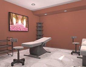 3D model Massage room - interior and props