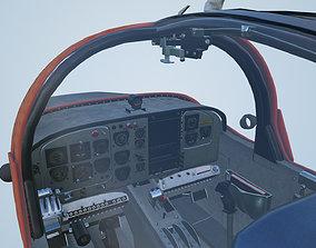 Striker Sail Glide RAAF CT4 Plane Cockpit High detailed 1