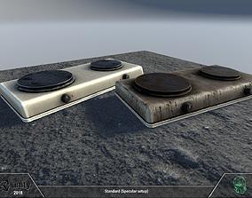 Hot plate 3D model