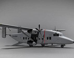 Shorts C-23 Sherpa England 1974 3D model