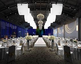 Wedding Banquet Room 3D