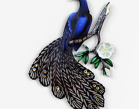 decor 3D Peacock