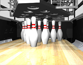 3D Bowling Pinsetter - GSX Style