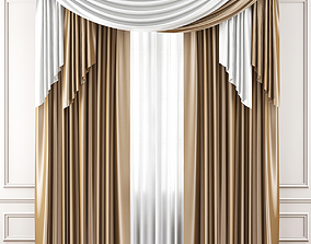 3D model realtime Curtains