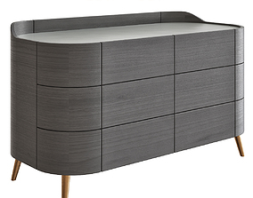Kelly Chest of Drawers by Poliform 3D model