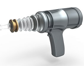Laser Pistol from the movie Forbidden 3D printable model 1