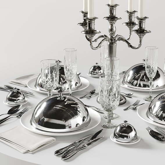 table setting 5a 3D model