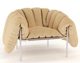 3D Puffy Lounge Chair