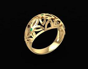 1655 Diamond ring 3D printable model
