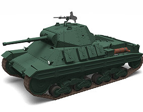 3D Carro Armato P40