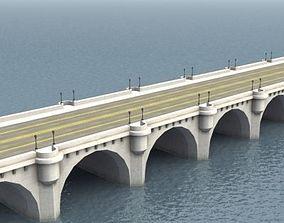 3D model PontNeuf Bridge Notre Dame