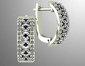 3D print model Gorgeous earrings