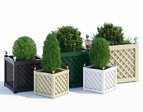3D model Treillage planters