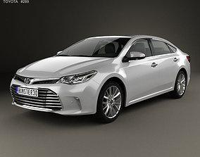 3D model Toyota Avalon Limited 2015