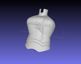 3D printable model Erza Scarlet Heart Kreuz Armor 1