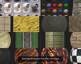 3D tile Seamless 50 Textures Full Pack