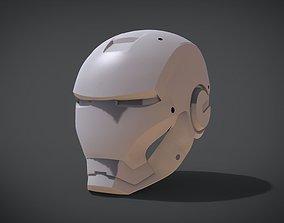 3D print model Helmet Ironman