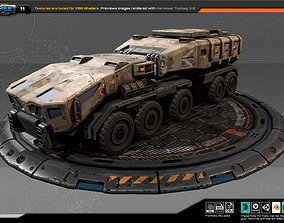 RTS Truck - 11 3D model game-ready