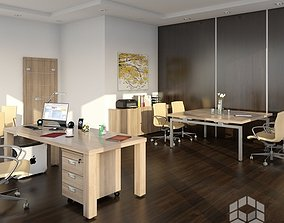 3D model Office 4 indoors