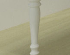 3D Classic table leg