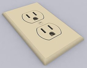 Outlet switch 3D