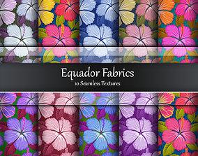 3D model Equador Seamless Textures Set
