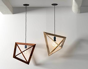 Lampframe Pendant Lamp 3D model