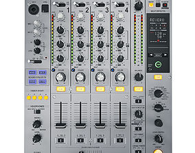 DJ Mixer Pioneer DJM-850 3D