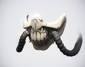 Immortan Joe mask 3D printable model