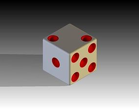 6 Faced Die 3D printable model