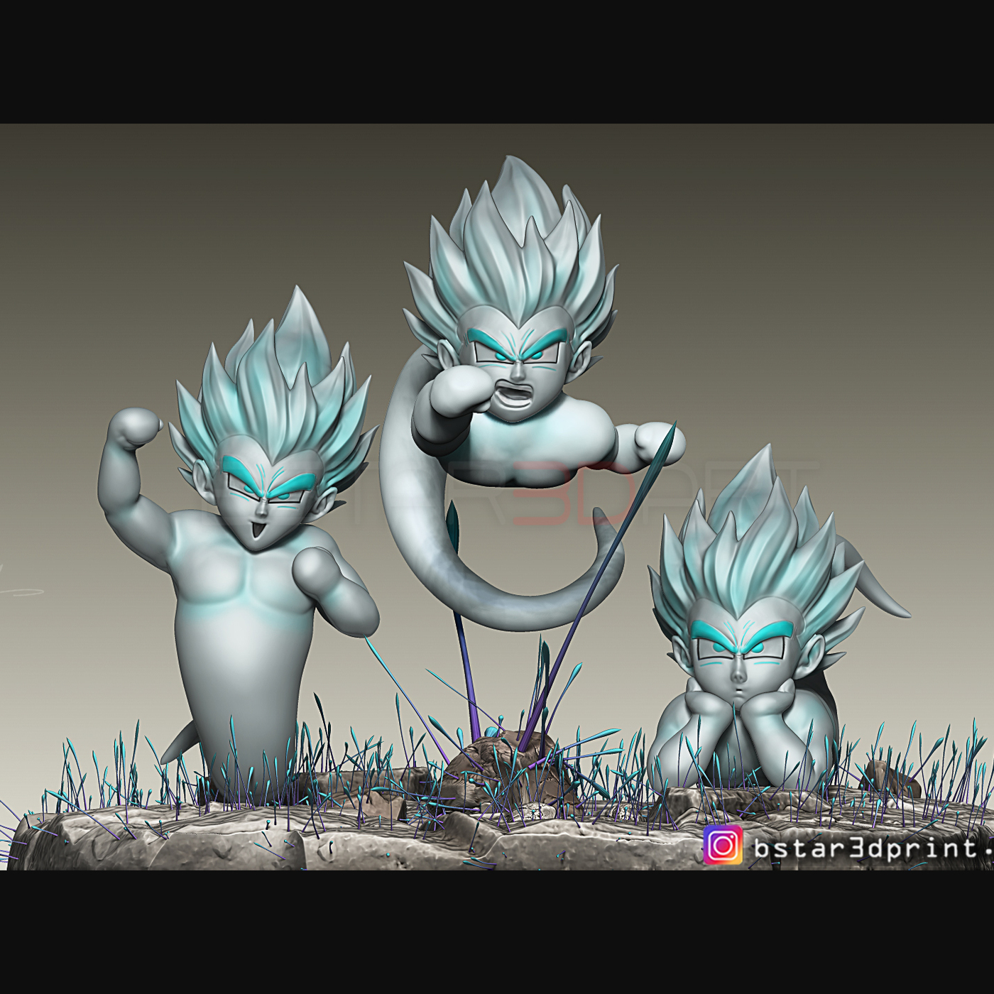 GotenKS Ghost from Dragon Ball Z